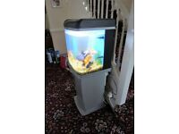 Bio-Reef 94 Tank with stand/storage and two sets of filter medium