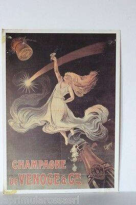 LA COMETE - HENRION (G) 1910 CHAMPAGNE DE VENOGE CARTOLINA VINTAGE ED. CARTEXPO