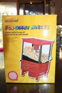 Mistral pop corn machine - used once as display at a party Mount Gravatt Brisbane South East Preview