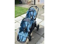 Baby Jogger City Select double buggy teal