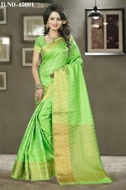 Kalamkari Designer Party Wear Silk Saree