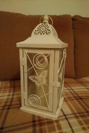 Wedding Ivory Cream Lantern/Candle holder