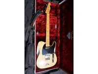 Fender telecaster limited edition 60th anniversary with marquetry inlay