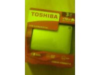 3TB Toshiba canvio connect 2 portable usb3 HD(NEW)