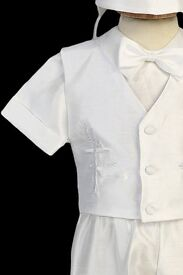 Christening outfit gown boy
