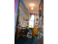 Nice single room for artist/ illustrator in a colourful artistic house with huge garden