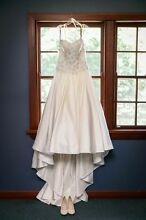 Wedding dress size 14 stunning Kylie j bridal with veil Brunswick Moreland Area Preview