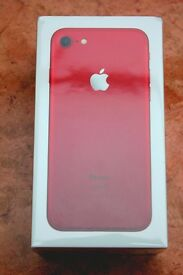Iphone 7 Red ,Limition Edition (128GB) ,Unlocked ,Sealed in Box