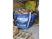 Seasoned Hardwood logs for wood stove