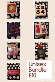 Unisex toy bundle