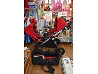 Baby Jogger City Select Double Pushchair with carrycot