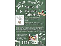 Maths and Physics Tutoring