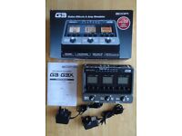 Zoom G3 Multi-effects Unit. Highly-regarded, now hard to find. Excellent Condition.