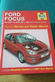 Haynes Manual Ford Focus