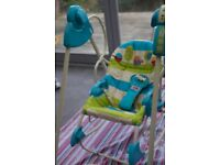 Fisher Price Rocker Swinger (Used) Toy Seat Chair