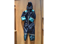 child's all in one ski suit