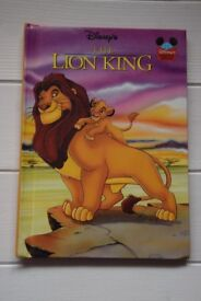 THE LION KING Disney's BOOK