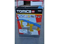 Tomy Tomica Hypercity train and road set, large bundle