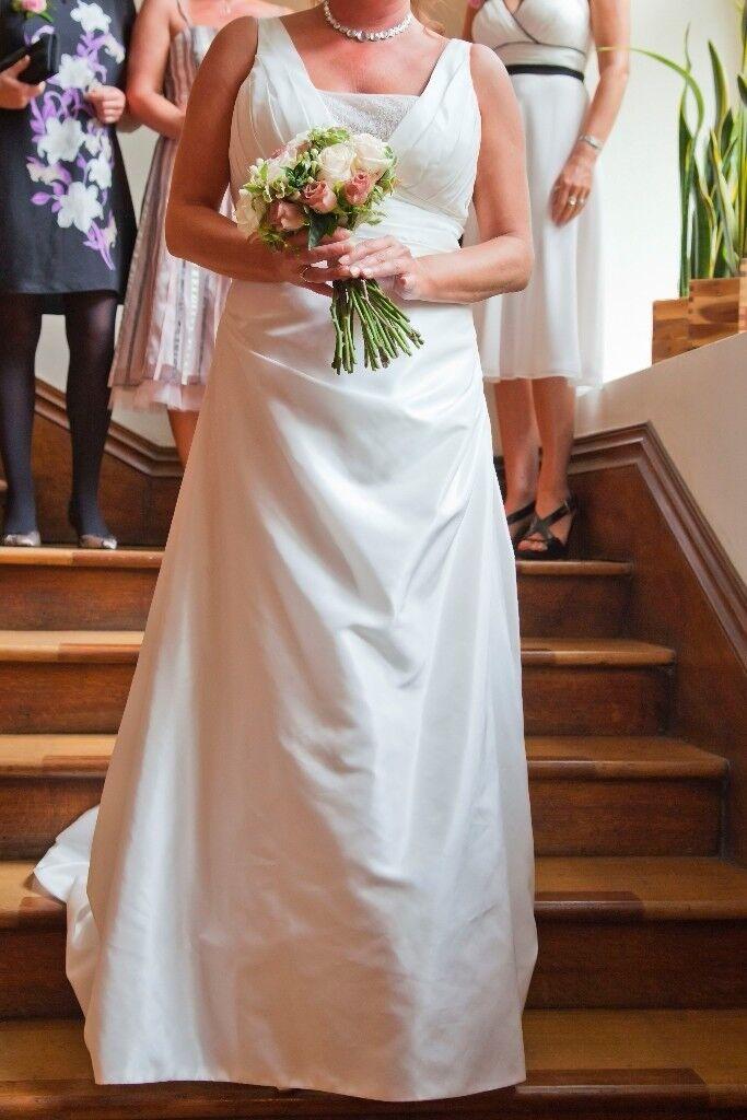 Debenhams wedding dress size 18 (but fits 16) | in Newbiggin-by ...