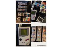 Original gameboy & 9 games & more
