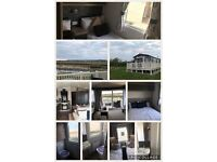 X2 3 bedroom caravans at primrose valley to hire