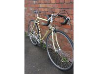 Rare Claude Butler retro road bike Reynolds 531 frame and forks a real stunner