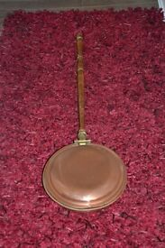 Victorian Solid Brass Bed Warmer £10