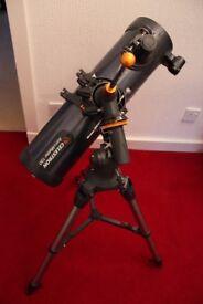 Celestron Astromaster 130EQ Reflector Telescope Brand New