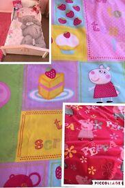 Girls toddler bed duvet sets