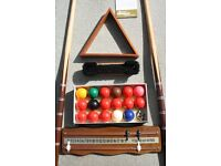 Jean Jaques 7 foot folding Snooker table