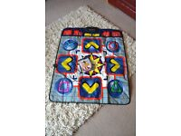 Dance Mat and PS2 Dancing Stage MegaMix