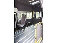 Ford Transit LWB Wheelchair Accessible Vehicle