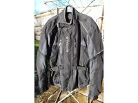 BUFFALO DART MOTORCYCLE JACKET SIZE L 44""