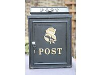 Wall Mounted Post Box used but in good condition
