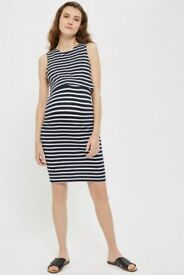 Topshop Maternity Nursing Overlay Dress Size 12