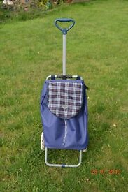 Shopping Trolley In Great Condition, Medium Size