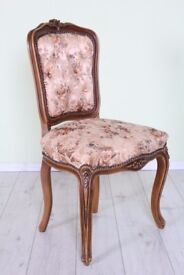 BEAUTIFUL LOUIS FRENCH STYLE CHAIR - UK WIDE DELIVERY