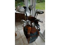 Full set of ladies golf clubs and accessories with bag - all you need to get started!