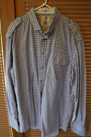 Quality mens shirt, Size Large, Once worn.