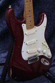 Fender Stratocaster - David Gilmour Red Strat, Relic