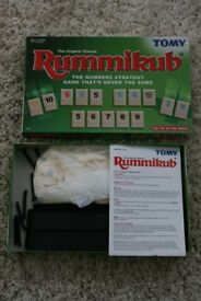 Tomy (The original classic) RUMMIKUB board game.