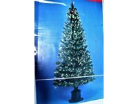 180cm Indoor Fibre Optic Christmes Tree- Changing coloured lights.
