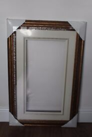 Brand new gold picture frame for sale