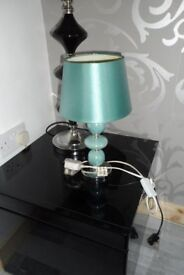 LAMP TEAL IN COLOUR NEW