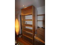 Habitat Kuda Oak Finish Large Bookcase