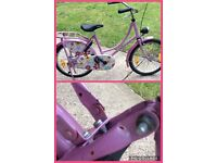 Girls Dutch bike