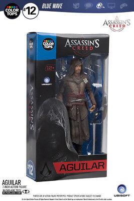 McFARLANE - ASSASSINS CREED - AGUILAR  -  COLOR TOPS FIGUR - NEU (Assassins Creed Figur Mcfarlane)