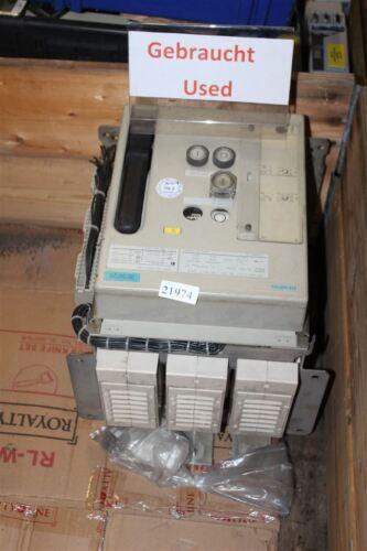 Siemens 3WN5 131-EB58-1JA1 Circuit Breaker