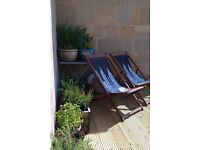Nearly new garden decking, genuine reason forces sale.