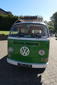 Renovated 1972 Volkswagen T2 Bay Camper Van